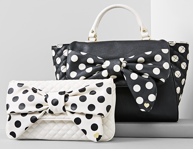 Quirky Details Bags feat. Betsey Johnson at MYHABIT