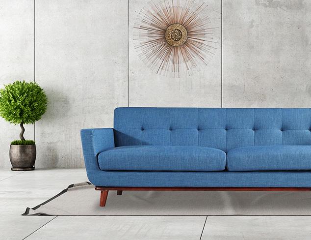 The Mid-Century Modern Living Room at MYHABIT