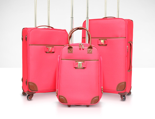 Think Pink Travel Bags at MYHABIT