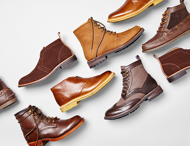 Boots feat. FRYE & Tommy Hilfiger at MYHABIT
