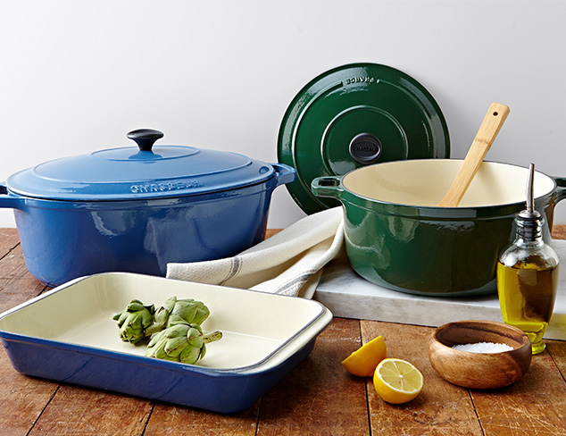 French Cookware & Table Linens at MYHABIT