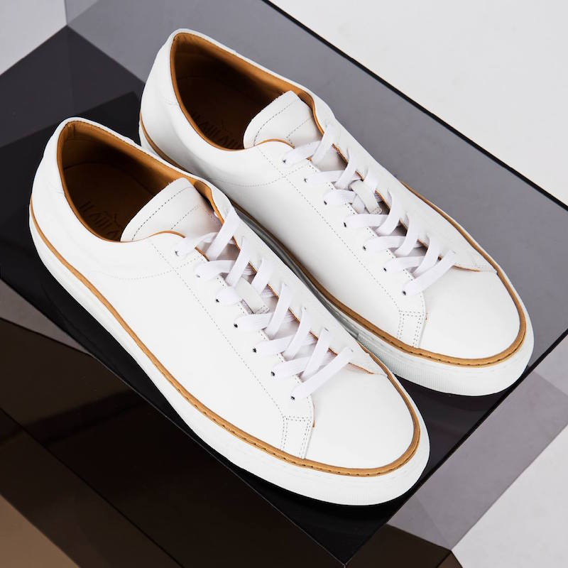 Number 288 Prince Low Leather Tennis Sneakers