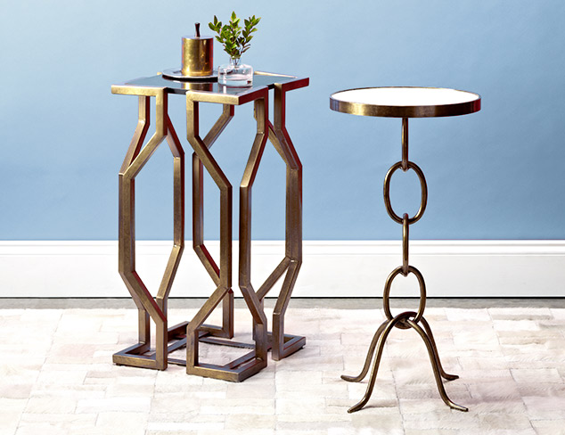 Under $300 Accent Tables at MYHABIT