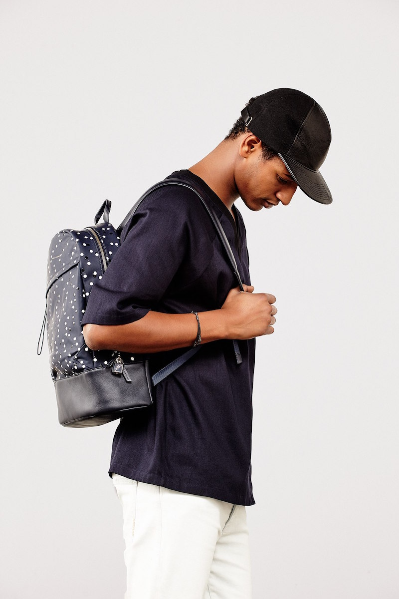 Want Les Essentiels de la Vie Kasturp Printed Leather Backpack