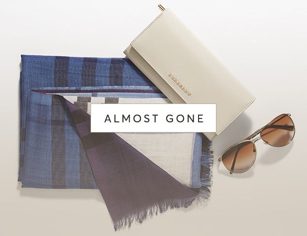 Almost Gone Accessories at MyHabit