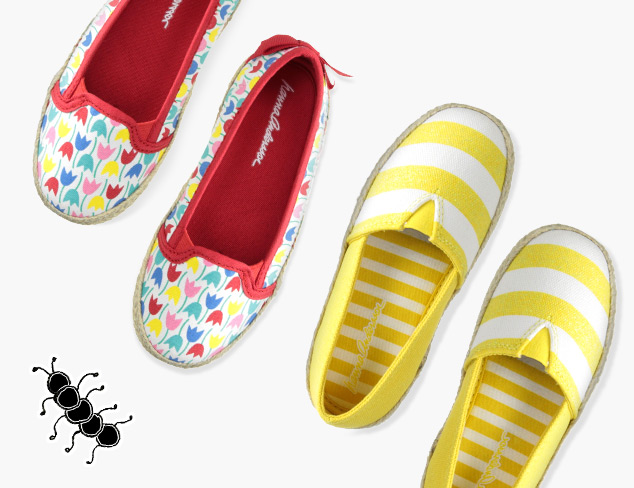 Espadrilles & Slip-ons feat. Hanna Andersson at MyHabit