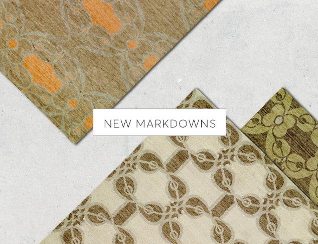 New Markdowns Rugs feat. Kalaty at MYHABIT