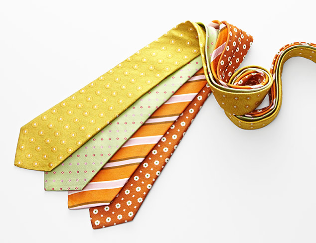 Bold & Bright Spring Ties at MyHabit