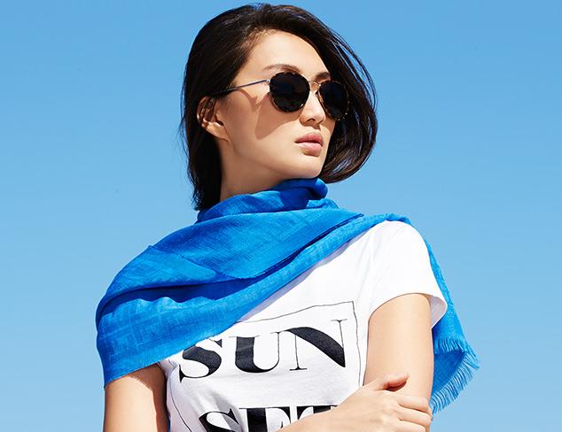 Fun in the Sun Summer Silk Scarves at MyHabit