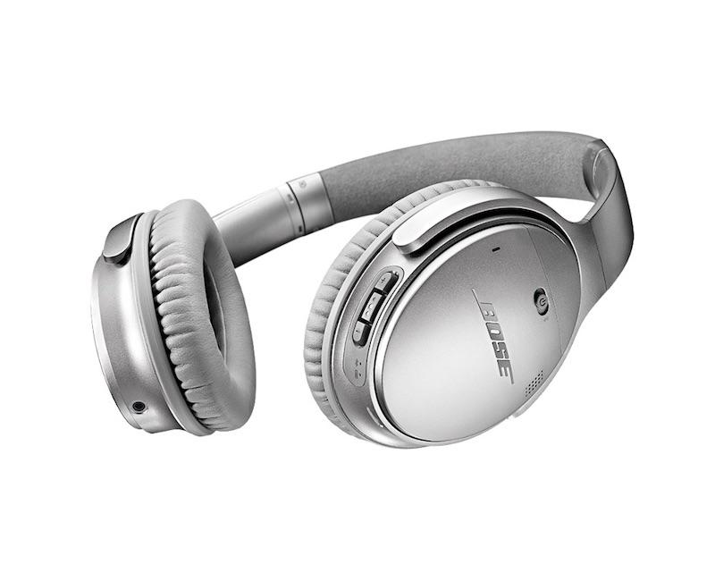 Bose QuietComfort 35 Wireless Headphones Silver_1