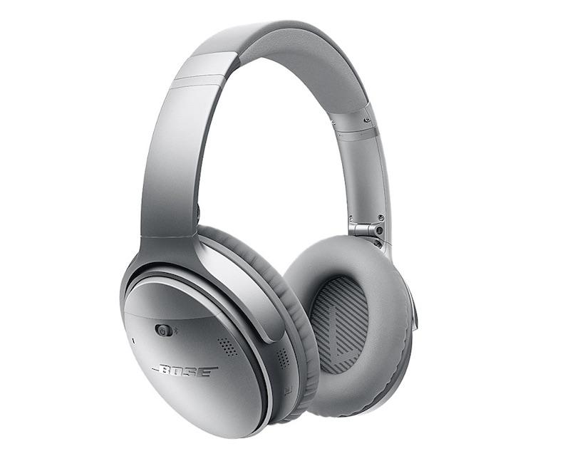 Bose QuietComfort 35 Wireless Headphones Silver_2