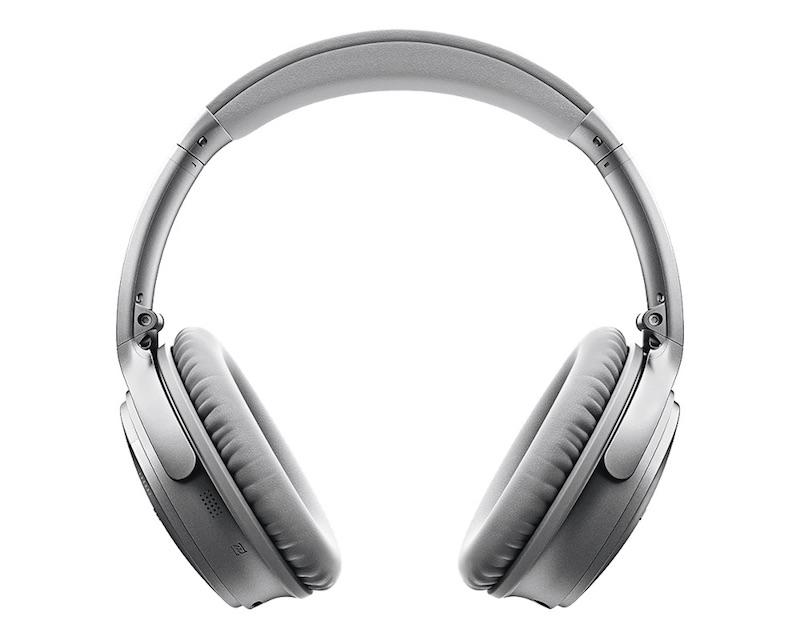 Bose QuietComfort 35 Wireless Headphones Silver_3