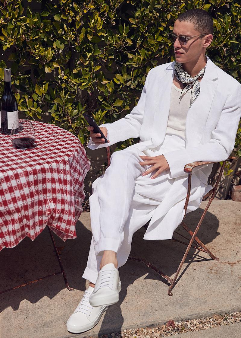 Haider Ackermann High Waist Dropped Crotch Trousers