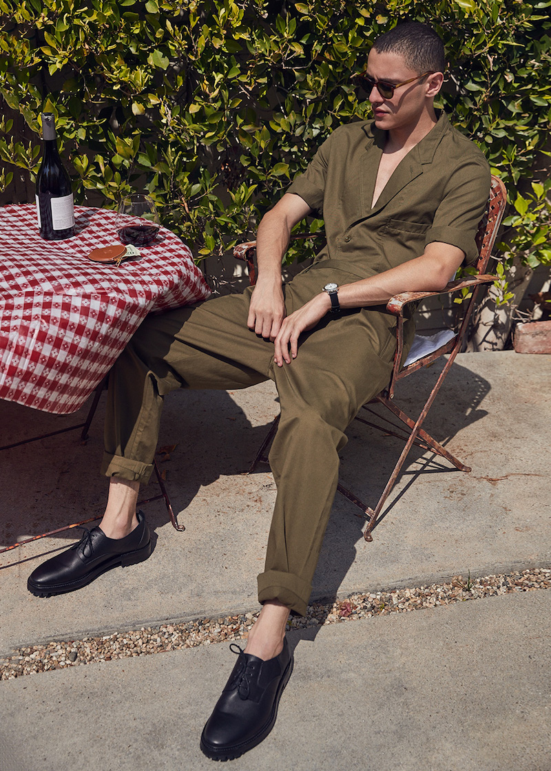 Lemaire Light Cotton Linen Twill Short Sleeve Jacket