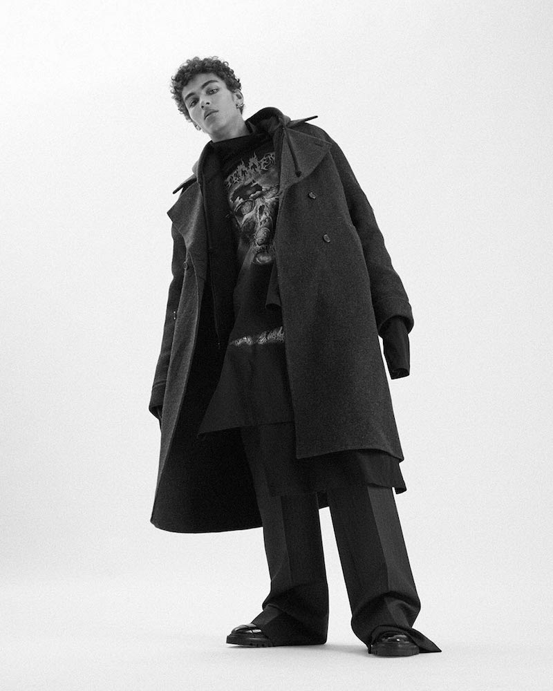 Acne Studios Martin Oversized Double-Breasted Wool Coat