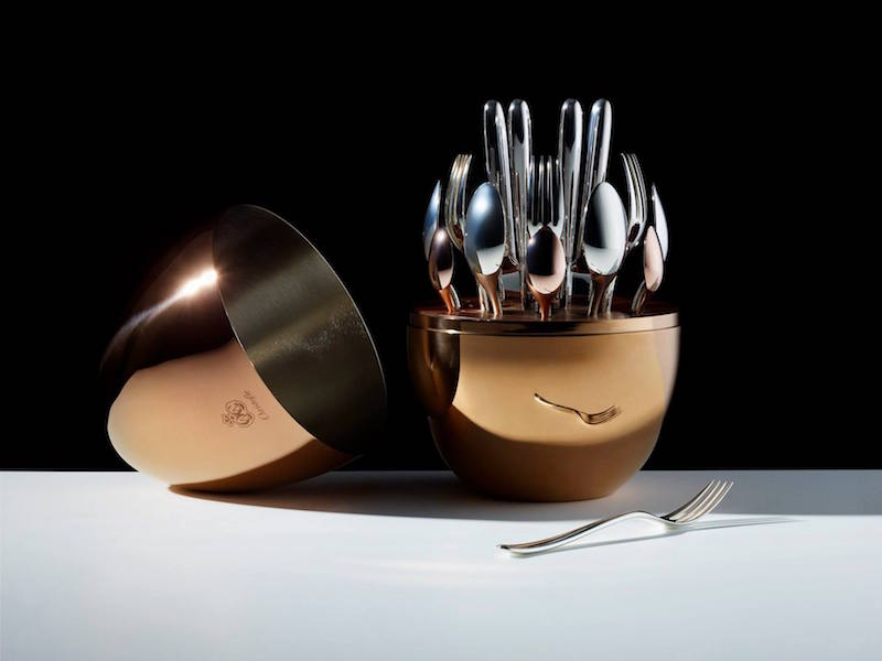 Christofle MOOD Pod & 24-Piece Flatware Set