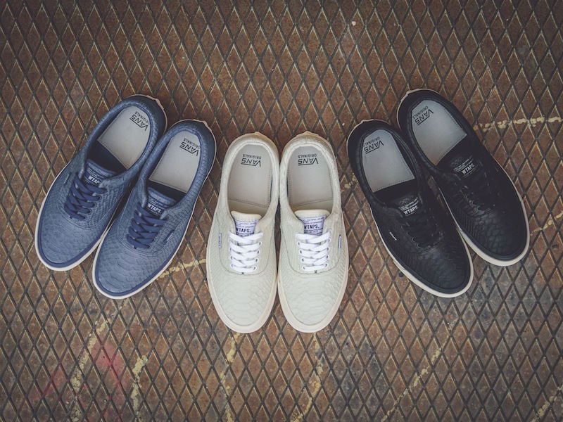 "Shoe of the Day // WTAPS x Vans Vault OG ERA LX ""Anaconda Pack"""
