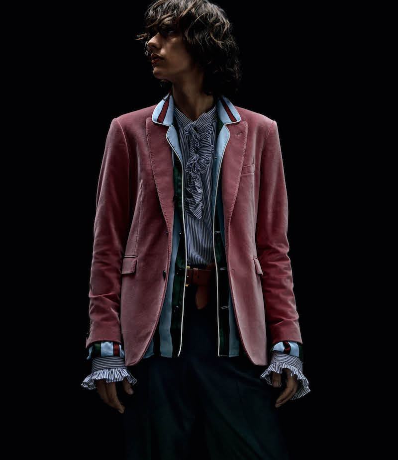 Burberry X Barneys New York Cotton Velvet Two-Button Sportcoat