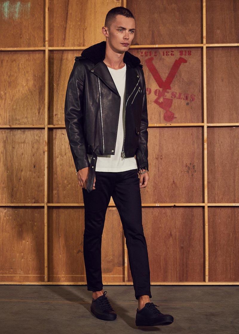 Acne Studios Araki Leather Jacket