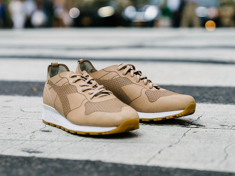BNY Sole Series x Diadora Trident 90 Low Top Sneakers