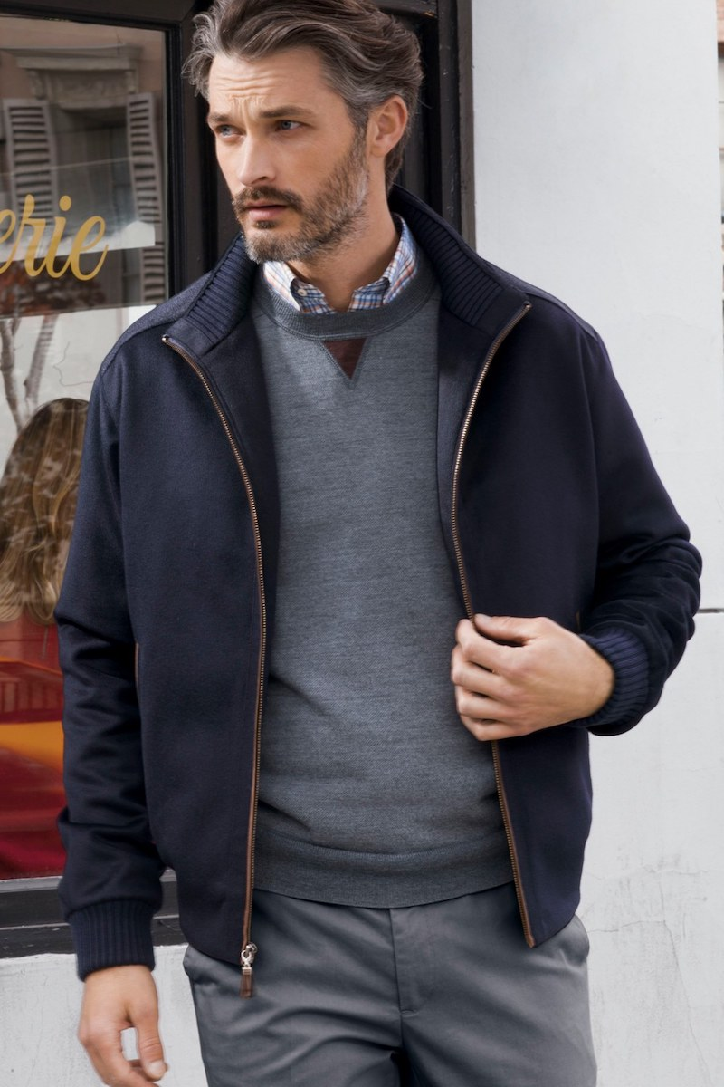 Peter Millar Patrick Water Resistant Wool Blend Jacket
