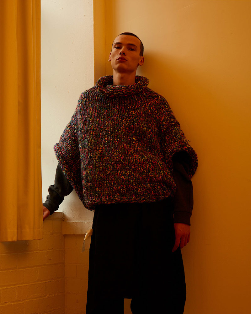Von Sono Oversized Hand Knitted Sweater