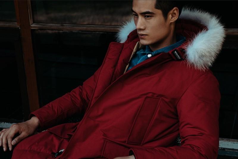 Woolrich John Rich & Bros Arctic Fur Trimmed Hooded Down Parka