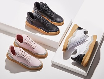 BNY Sole Series // Filling Pieces Mid-Top Sneakers