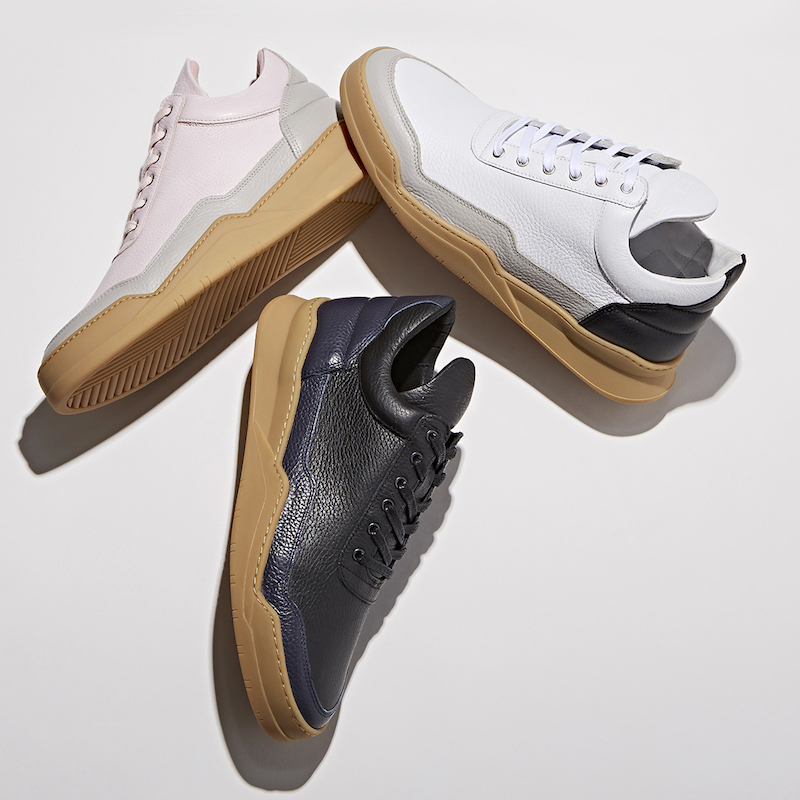 BNY Sole Series x Filling Pieces Mid-Top Sneakers