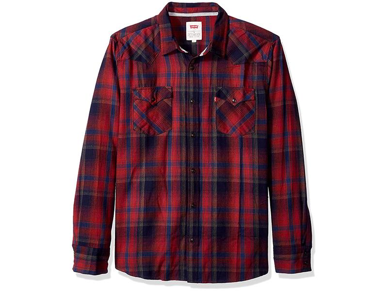 Levi's Albemarle Long Sleeve Flannel Woven