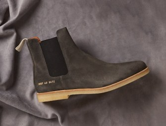 MATCHESFASHION The Style Report // Suede Shoes for Men Spring 2017