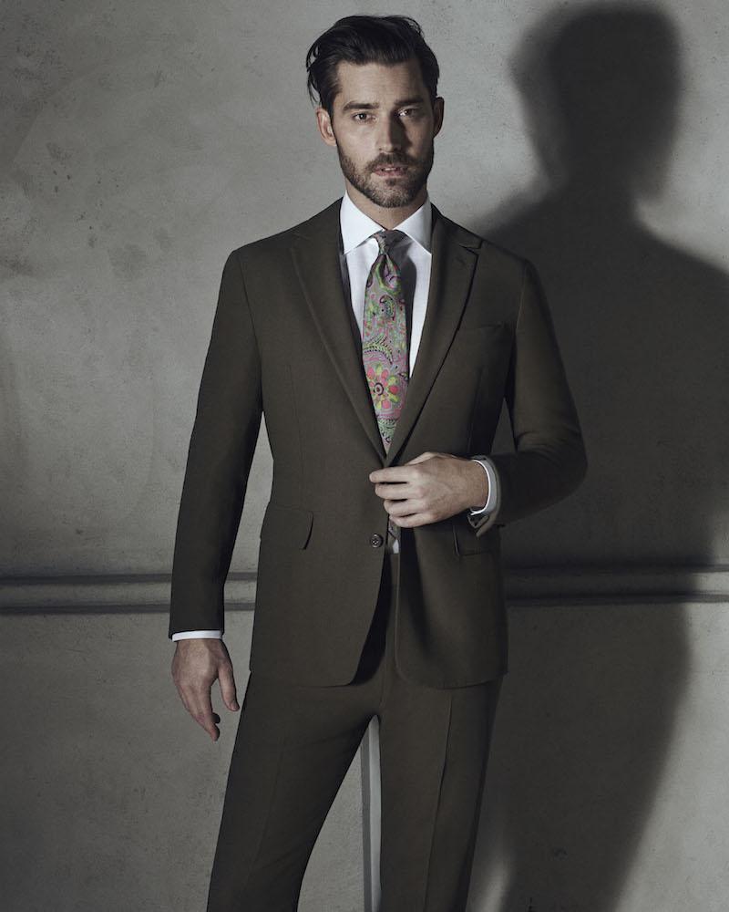 Ralph Lauren Purple Label Anthony Wool Two-Button Suit