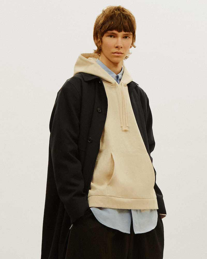 Camiel Fortgens Oversized Hooded Top