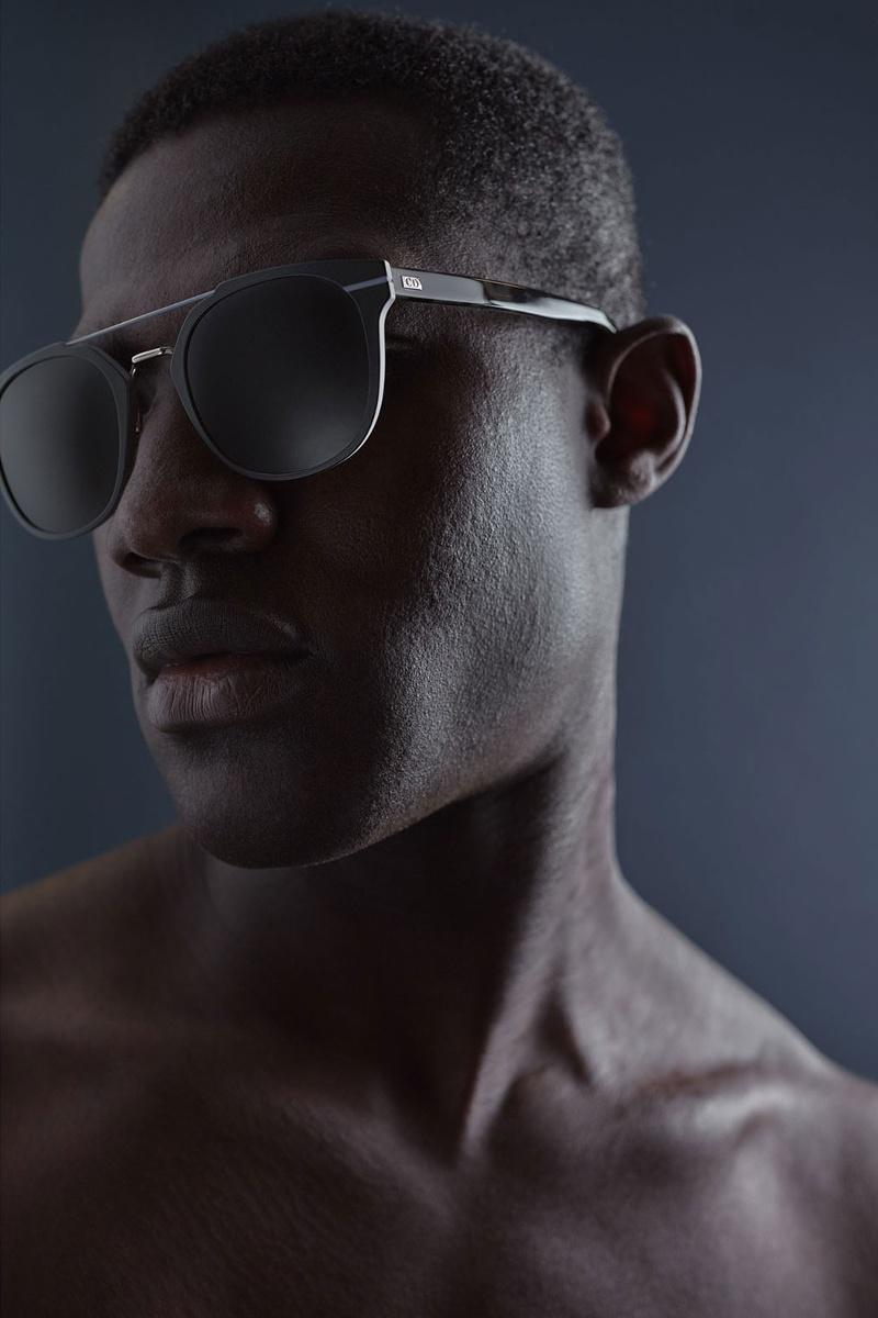 Dior Homme AL13.5 Pantos-Style Sunglasses