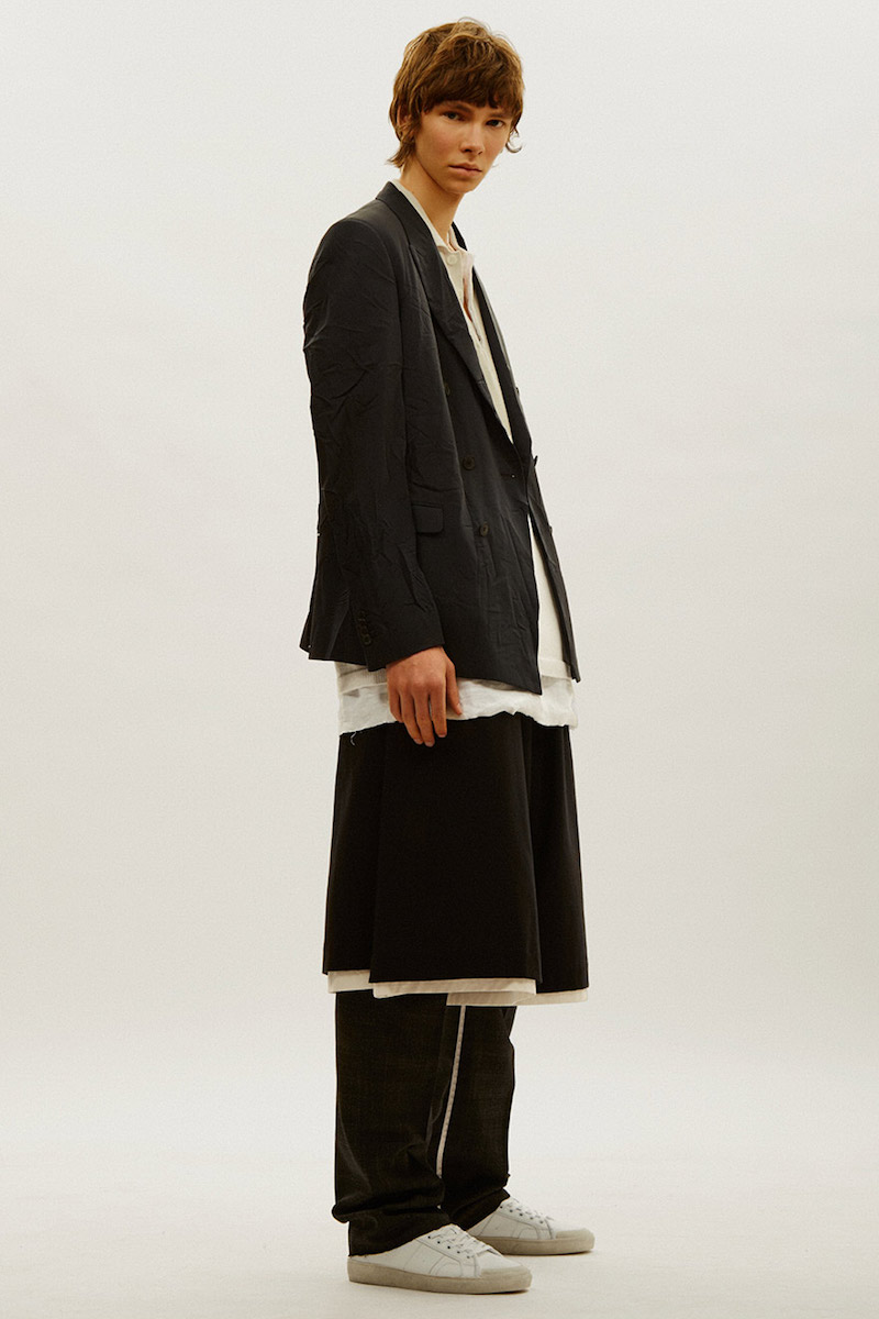 Marvielab Oversized Dropped Crotch Shorts