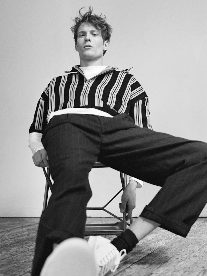 Raf Simons White Long-Sleeved Cotton-Jersey T-Shirt