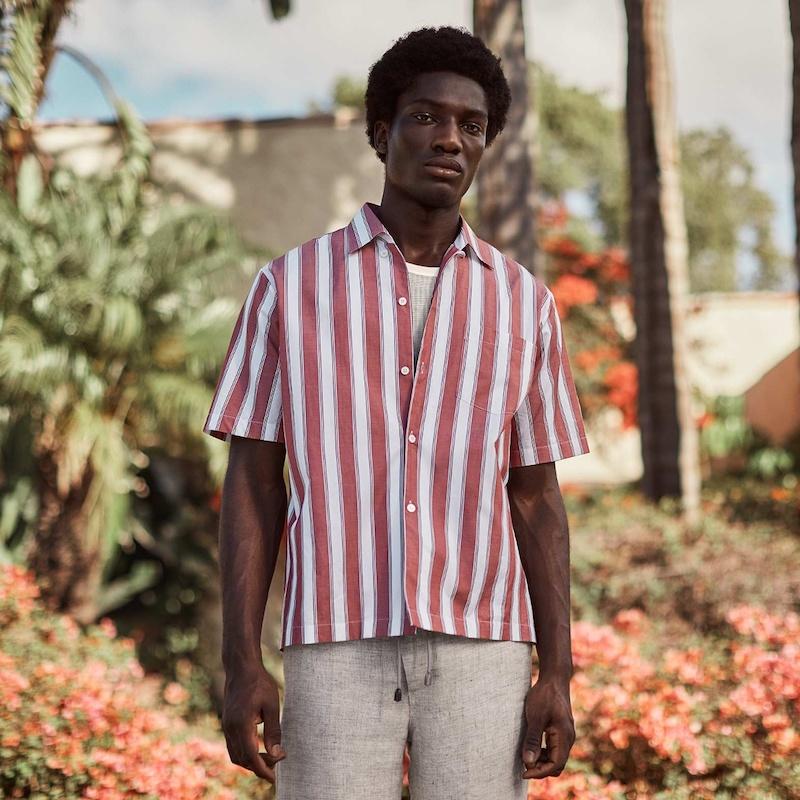 Stella McCartney Short-Sleeved Striped Shirts