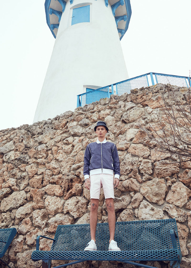 Thom Browne Lightweight Twill Shorts