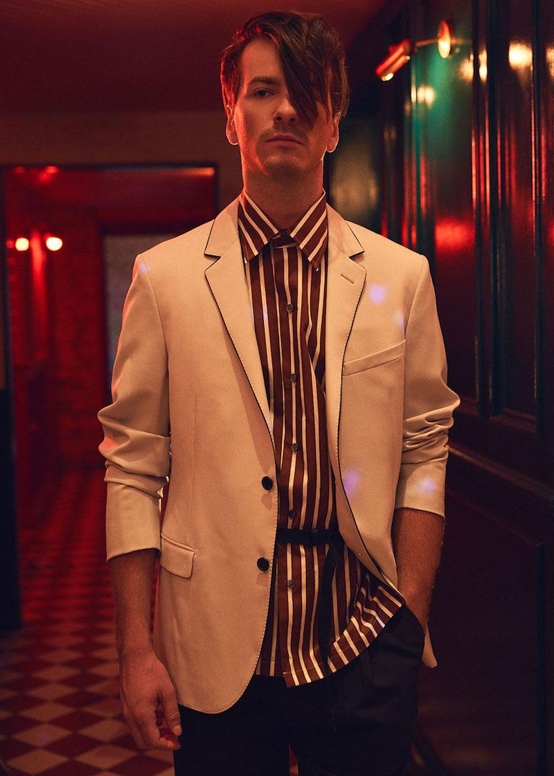 Lanvin Evening Silk Piping Blazer