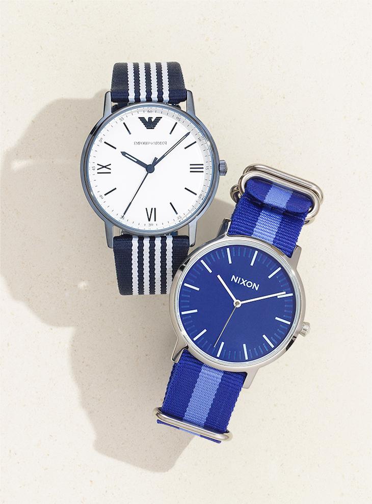 Nixon A1059307 Porter Nylon Analog Sport Quartz Watch