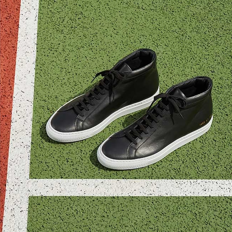 Common Projects Original Achilles Mid-Top Leather Trainers