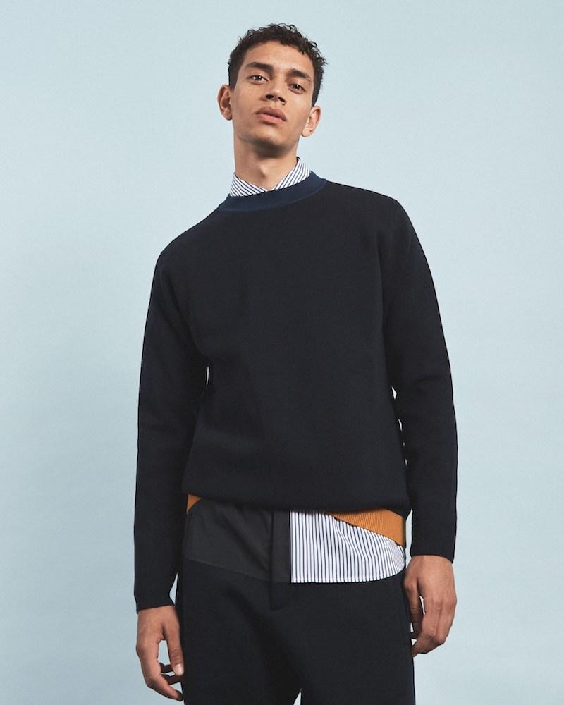 Marni Colour-Block Wool Sweater