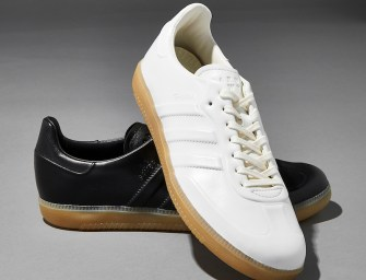 BNY Sole Series // adidas Samba Leather Sneakers