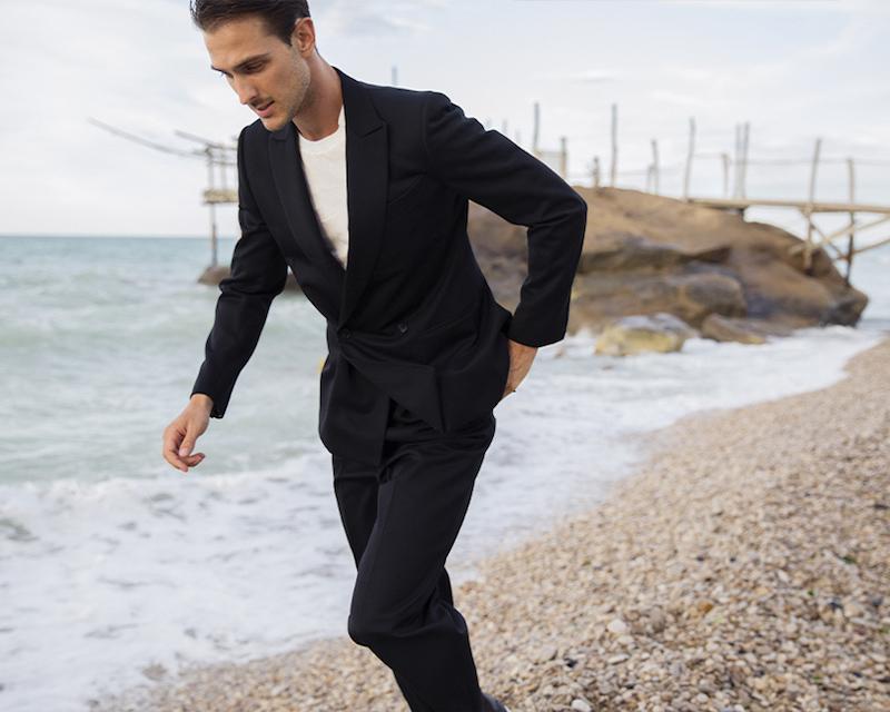 Corneliani Structured Super 110 s Wool Jacket