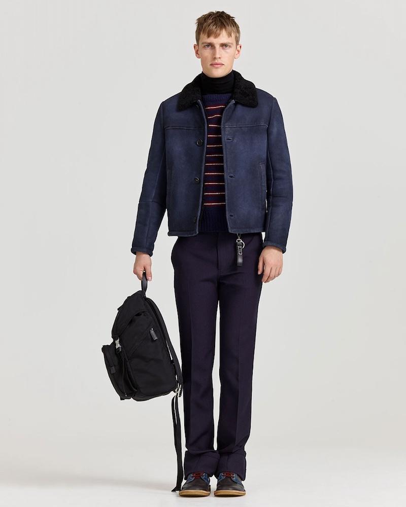 Prada Shearling Jacket