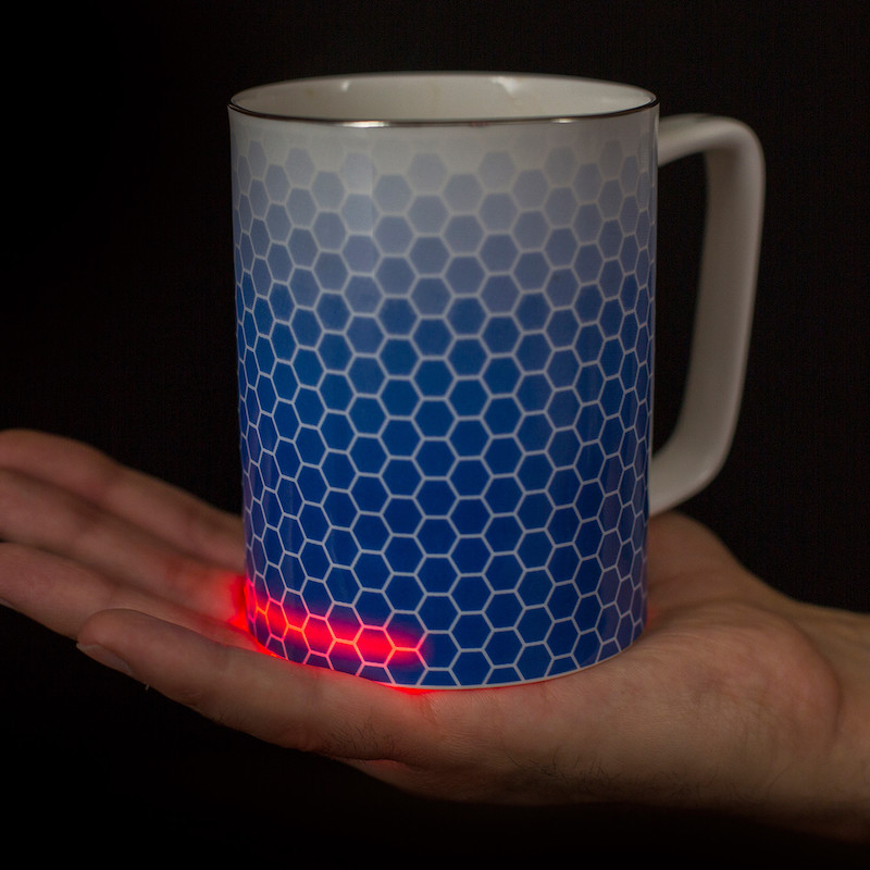 Glowstone Honeycomb Self-Heating Smart Mug