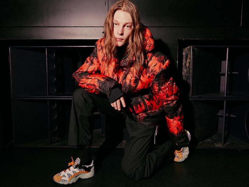 KRU Oversized Strato K2 Shibori Down Jacket