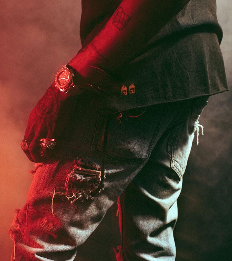 Ksubi x Travis Scott Ripped Chitch Jean