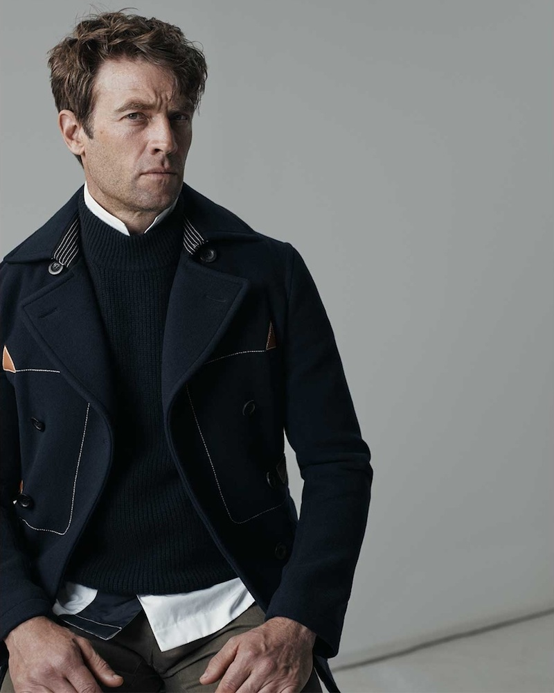 Loewe Double-Breasted Pea Coat