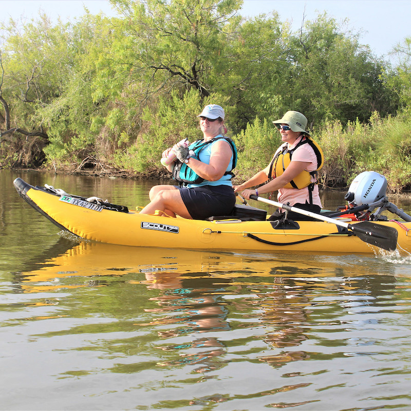 Ultimate Kayak Alternative: Scout Inflatables SCOUT365 Portable Inflatable Boat